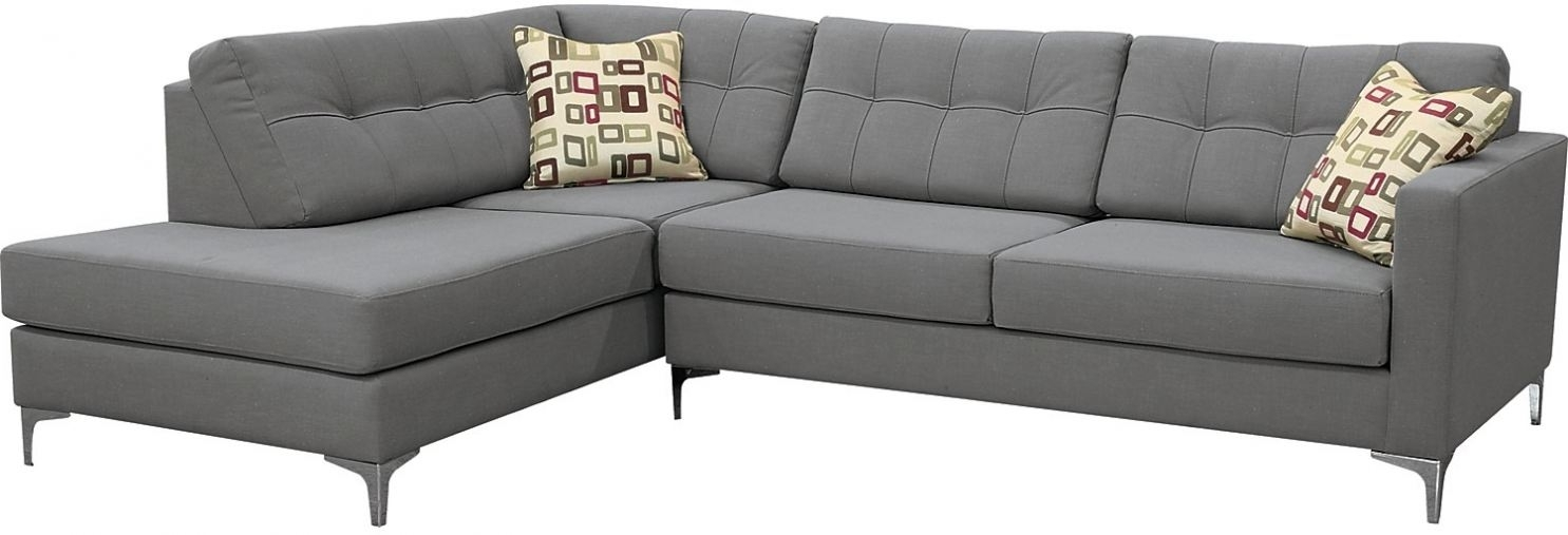 The Brick Sectional Sofa Bed Ivy Polyester Right Facing Sectional Regarding Sectional Sofas At Brick (Image 10 of 10)
