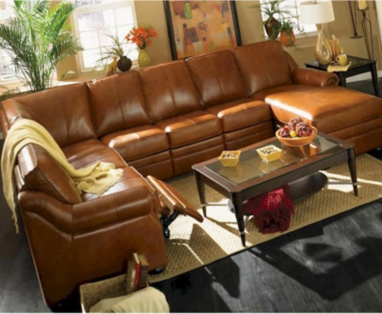 The Charlotte Leather Sectional | For The Home | Pinterest | Leather Inside Charlotte Sectional Sofas (View 6 of 10)