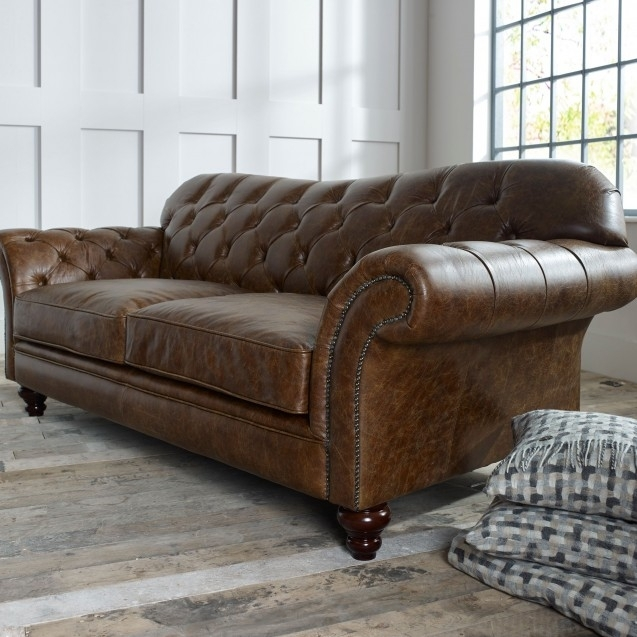 The Chesterfield Co™: Leather Chesterfield Sofas, Armchairs & More For Leather Chesterfield Sofas (Image 8 of 10)