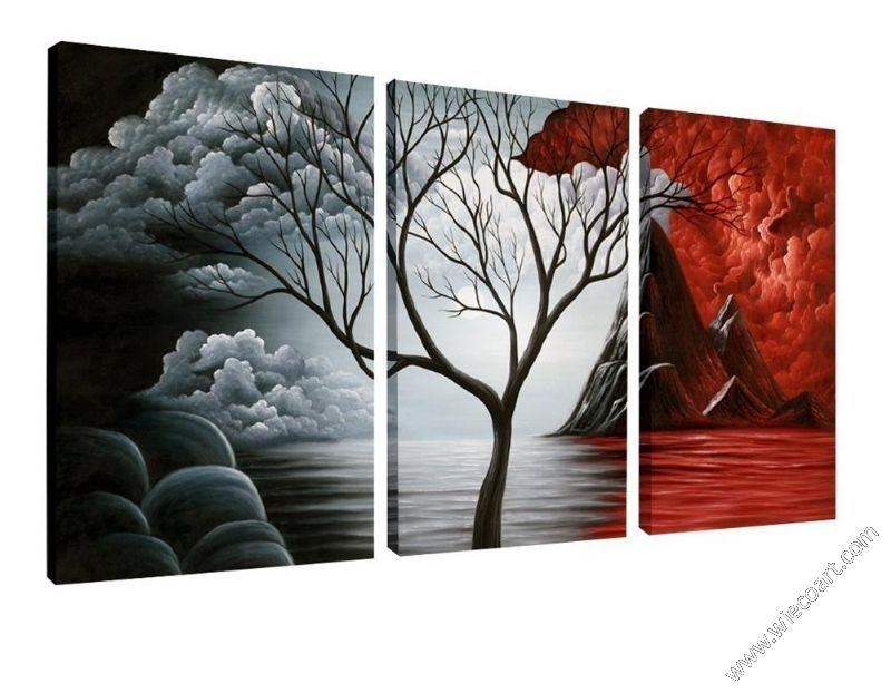 The Cloud Tree Modern Canvas Art Wall Decor Abstract Canvas Prints For Canvas Wall Art At Walmart (View 20 of 20)