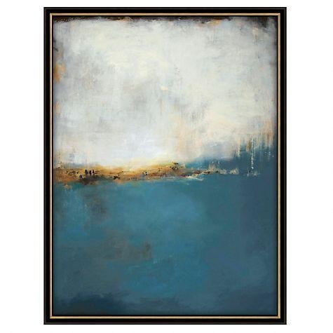 The Earth Original Art Canvas In Abstract Horizon Wall Art (Image 20 of 20)