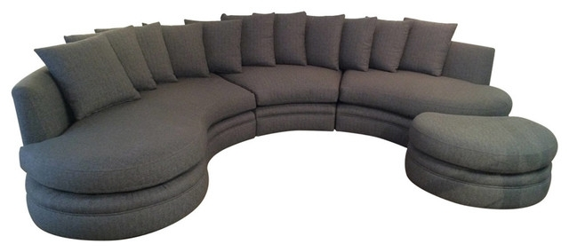 The Importance Of Round Sofa – Bellissimainteriors In Rounded Sofas (Image 8 of 10)