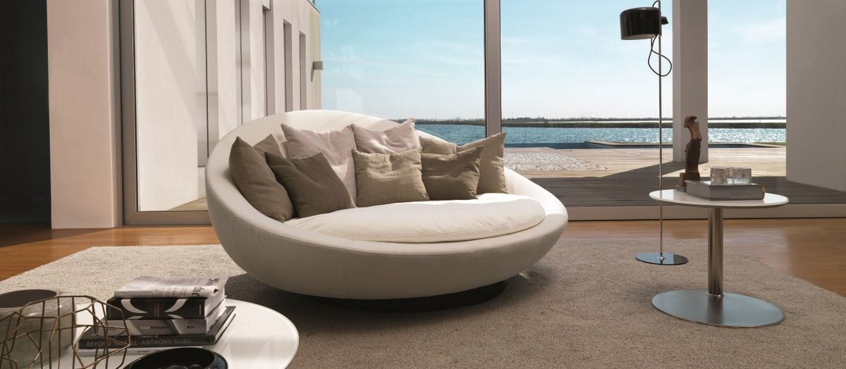 The Importance Of Round Sofa – Bellissimainteriors Within Round Sofas (Image 8 of 10)