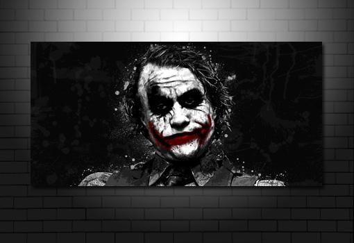 The Joker Canvas Art Pertaining To Joker Canvas Wall Art (View 3 of 20)