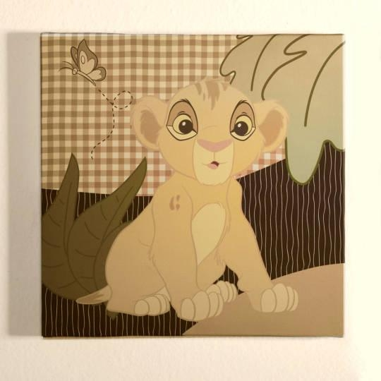 The Lion King Wall Art | Disney Baby Regarding Lion King Canvas Wall Art (Image 16 of 20)