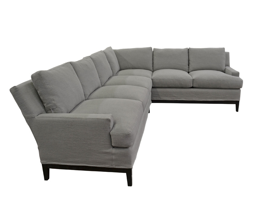 The Manhattan Sectional | Custom Madequatrine Pertaining To Quatrine Sectional Sofas (Image 8 of 10)