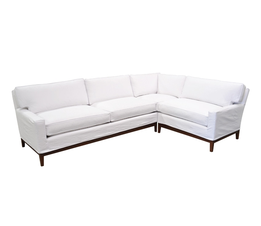 The Manhattan Sectional | Custom Madequatrine Within Quatrine Sectional Sofas (Image 9 of 10)