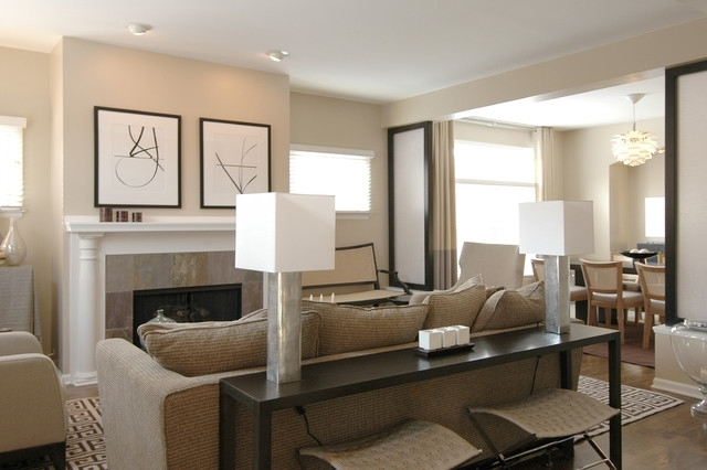The Orpin Group, Interior Design With Sofas With Consoles (Image 9 of 10)