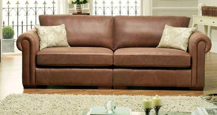The Pros And Cons Of Leather Furniture | Sofasofa Intended For Aspen Leather Sofas (Image 10 of 10)