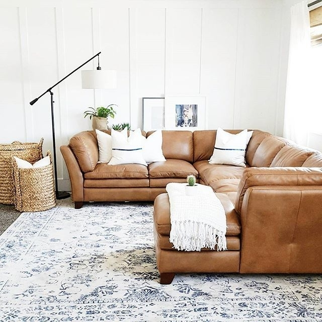 The Whole House Can Look Like A Bomb Went Off (And Trust Me, It Does For Camel Sectional Sofas (Image 10 of 10)
