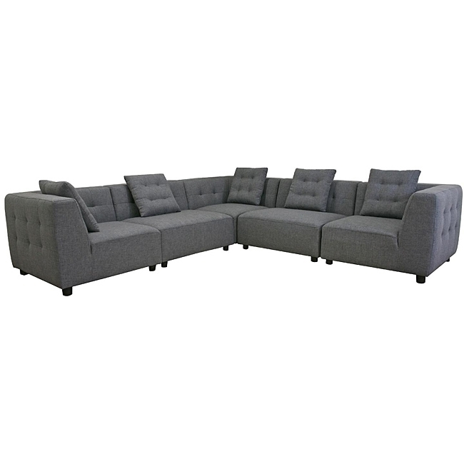 This Alcoa Sectional Sofa Consists Of Five Separate Pieces That Can For Sectional Sofas That Can Be Rearranged (View 2 of 10)