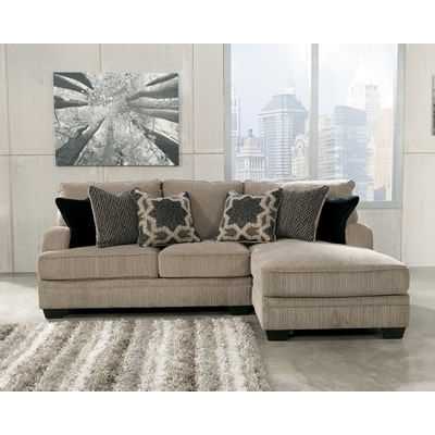 This Sectional From Our Partner, Tepperman's Is Neutral, Yet Stands With Teppermans Sectional Sofas (Image 9 of 10)