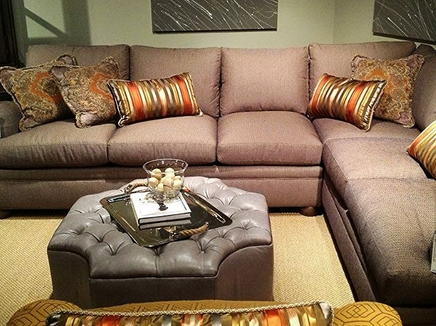 This Sectional Is Absolutely Gorgeous! It Screams Comfort (Image 10 of 10)