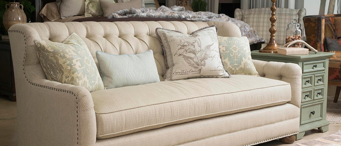 Thomasville Home Furnishingsmost Popular Sofas – Thomasville Home With Regard To One Cushion Sofas (Image 10 of 10)