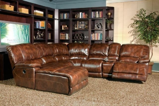 Thomasville Leather In Motion Sectional Rapid City South Dakota Regarding Thomasville Sectional Sofas (Image 4 of 10)