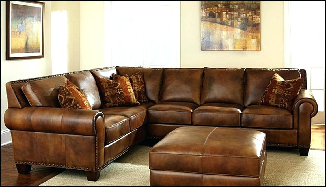 Thomasville Leather Sofa – Wojcicki Intended For Thomasville Sectional Sofas (Image 5 of 10)