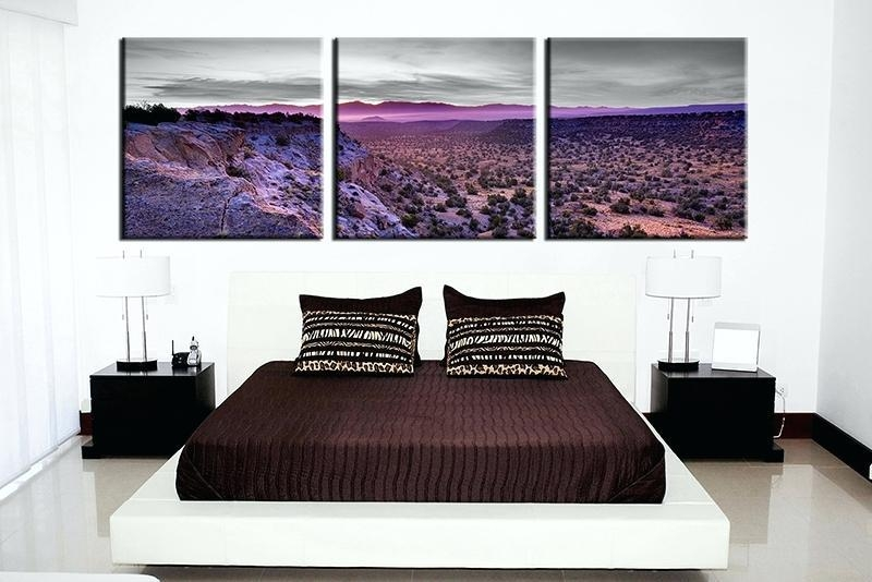 Three Piece Canvas Wall Art – Boyintransit Inside Canvas Wall Art In Canada (Image 14 of 20)