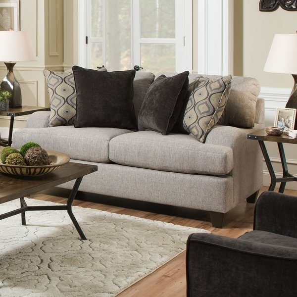 Three Posts Simmons Upholstery Hattiesburg Sterling Loveseat Pertaining To Hattiesburg Ms Sectional Sofas (Image 9 of 10)