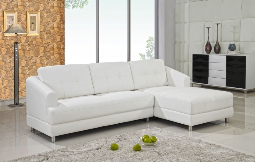 Tips To Choose Best White Sectional Sofa – Designinyou Throughout White Sectional Sofas (Image 6 of 10)