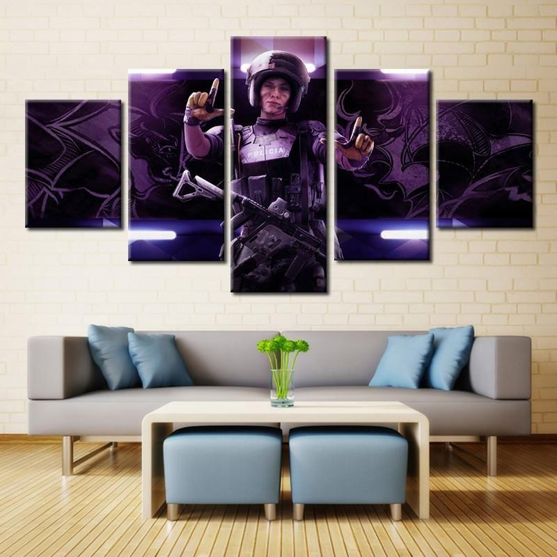 Tom Clancy's Rainbow Six Siege Wall Art | Products | Pinterest Throughout Rainbow Canvas Wall Art (View 8 of 20)