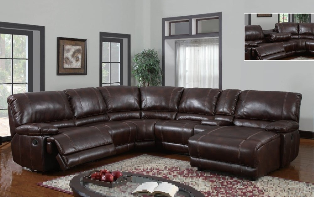 Top 10 Best Reclining Sofas (2018) Regarding Sectional Sofas With Recliners Leather (Image 8 of 10)