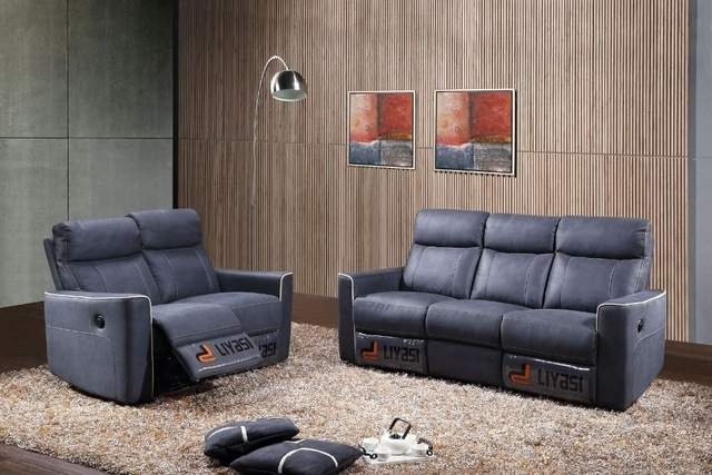 Top Selling Wholesale Living Room European Style Sectional Sofa With Throughout Sectional Sofas With Electric Recliners (Image 10 of 10)