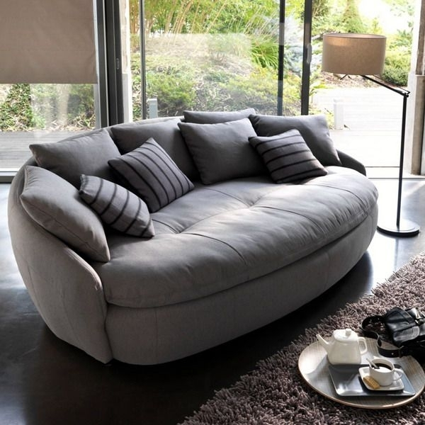 Traditional Best 25 Round Sofa Ideas On Pinterest Chair Living Room Regarding Big Sofa Chairs (Image 10 of 10)