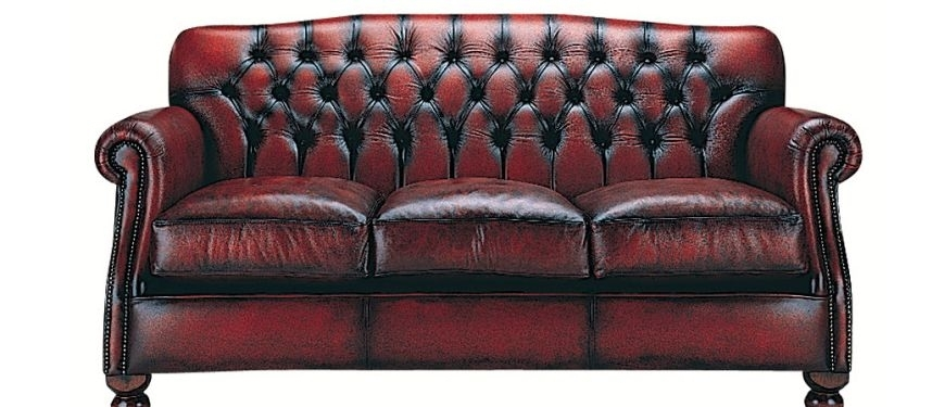 Traditional Leather Sofas | Sofasofa Throughout Victorian Leather Sofas (Image 8 of 10)