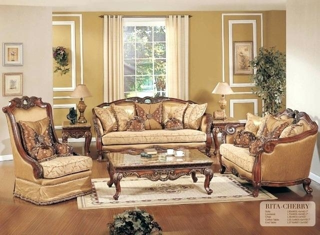 Traditional Living Room Sofas Large Size Of Leather Traditional Intended For Traditional Sofas And Chairs (Image 7 of 10)