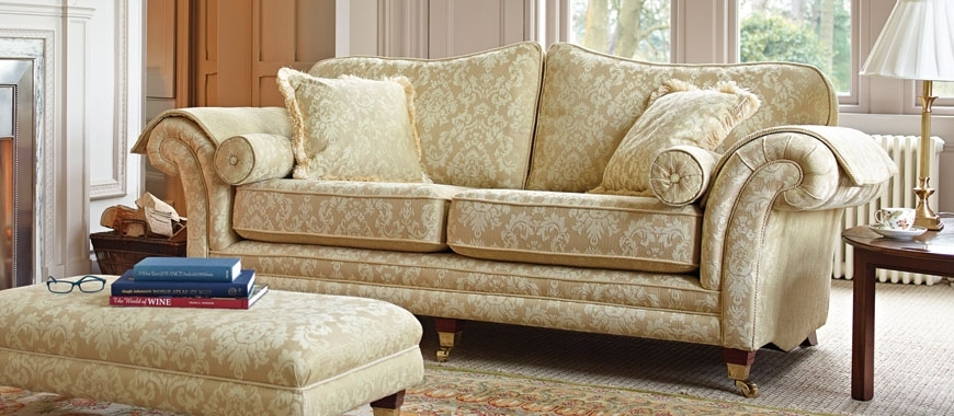 Traditional Sofas | British Made, Fabric & Leather | Sofasofa Intended For Traditional Sofas (Image 10 of 10)