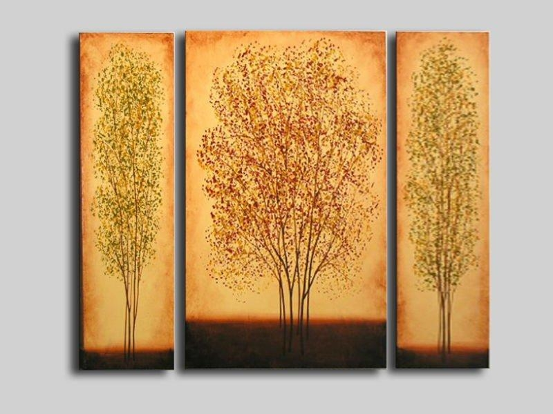 Tree Wall Art – Affordable Canvas Art – Oil Paintings For Sale In Canvas Wall Art Of Trees (View 19 of 20)