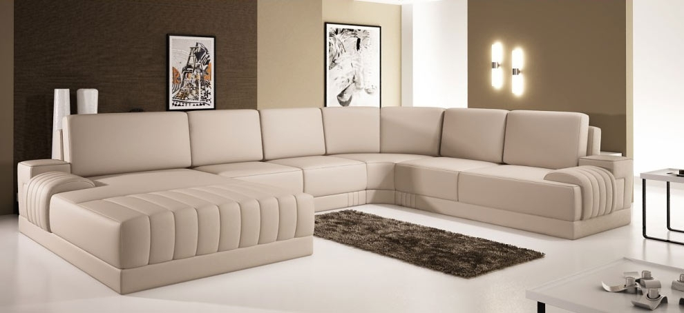 Tremendeous Sofa Nice Modern Leather Sectional Sofas 2 B On With Regard To Vt Sectional Sofas (Image 9 of 10)