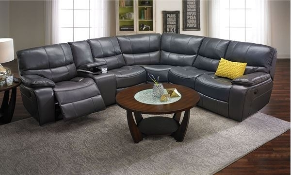 Trenton Power Reclining Sectional Sofa | The Dump Luxe Furniture Outlet With Regard To The Dump Sectional Sofas (View 10 of 10)