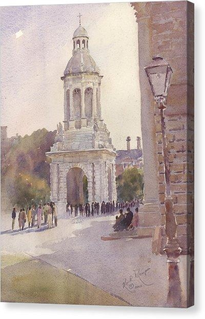 Trinity College Dublin Canvas Prints (Page #8 Of 9) | Fine Art America Within Dublin Canvas Wall Art (View 20 of 20)