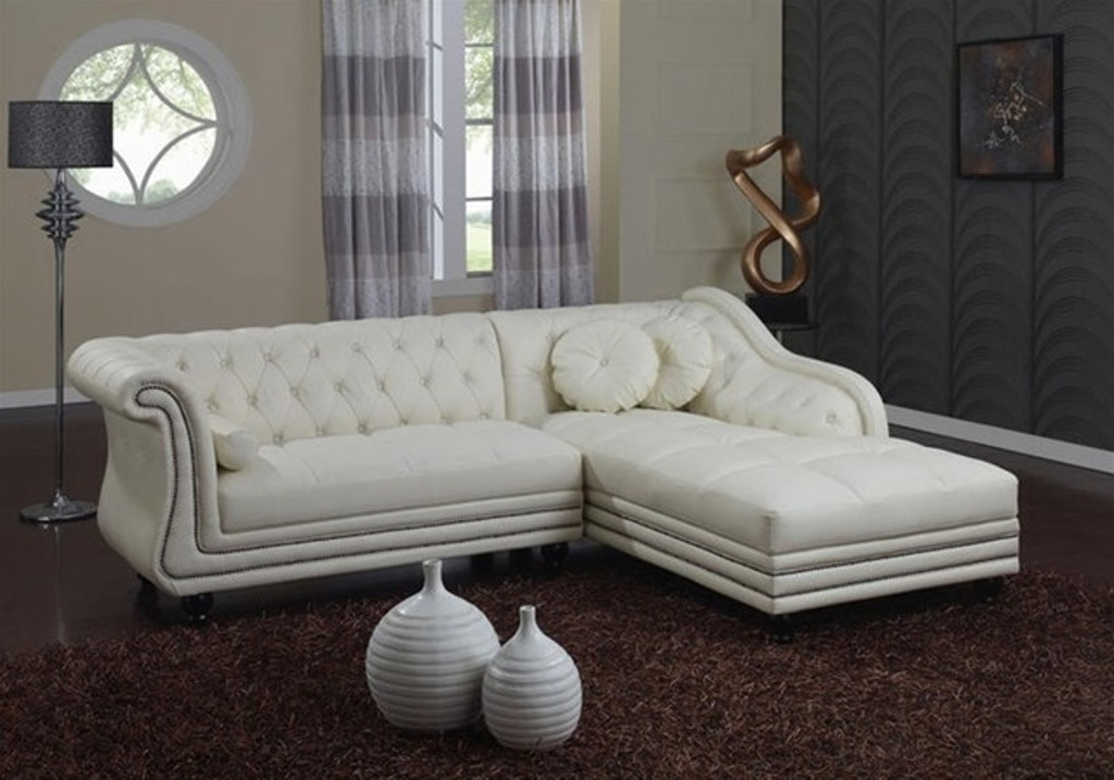 Tufted Sectional Sofa With Recliners And Chaise — Fabrizio Design For Tufted Sectional Sofas (Image 10 of 10)