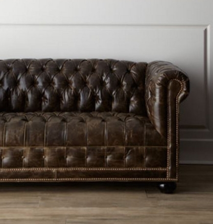 Tufted Sofas Within Tufted Leather Chesterfield Sofas (Image 8 of 10)