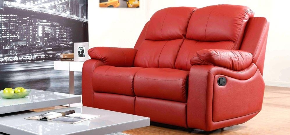 Two Seater Recliner Leather Sofa – Stjames Inside 2 Seater Recliner Leather Sofas (View 6 of 10)