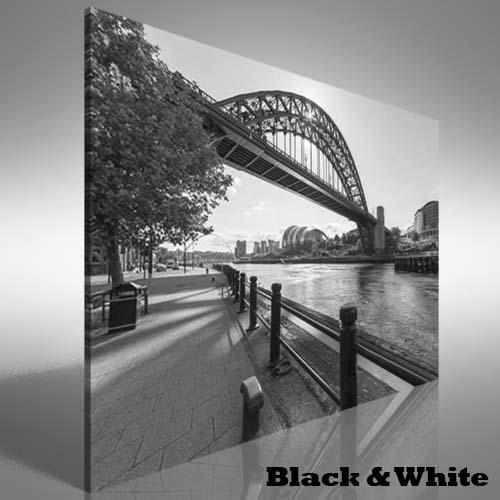 Tyne Bridge At Newcastle Upon Tyne Uk Canvas Print Large Picture Throughout Newcastle Canvas Wall Art (Image 17 of 20)