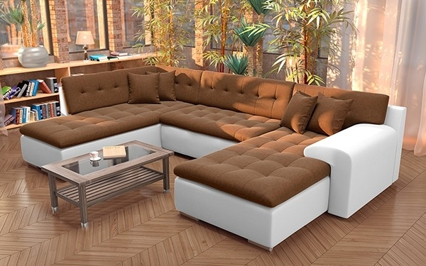 U Shape Sofa Cum Bed Inside 2 Storage At Rs 49999 Piece Design 7 Pertaining To Deep U Shaped Sectionals (Image 10 of 10)