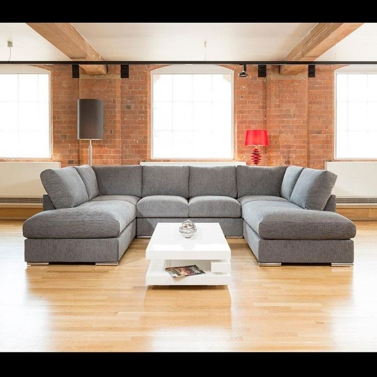 U Shaped Couch Grey : Mtc Home Design – How To Use U Shaped Couch Intended For Extra Large U Shaped Sectionals (Photo 2 of 10)