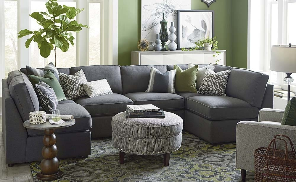 U Shaped Loveseat : Into The Glass – Appealing U Shaped Leather Within Small U Shaped Sectional Sofas (View 2 of 10)