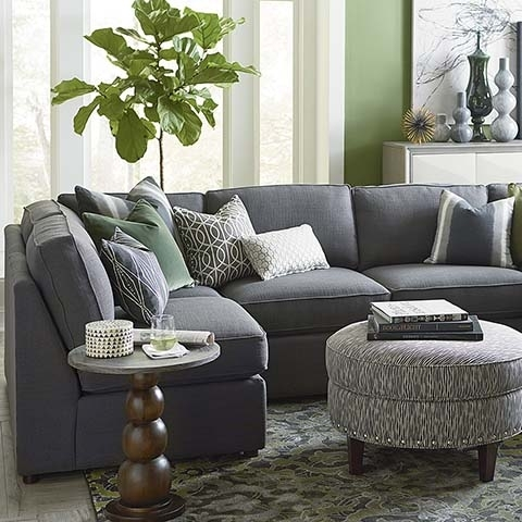 "U Shaped Sectional Dimensions H 40"" , W 132"" , D 66"" But No Arms With Gray U Shaped Sectionals (Photo 2 of 10)"