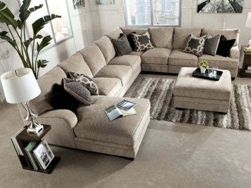 Undefined  Hom Furniture Sectional Sofa | 4 Home Building Intended For Extra Large Sectional Sofas (Image 10 of 10)
