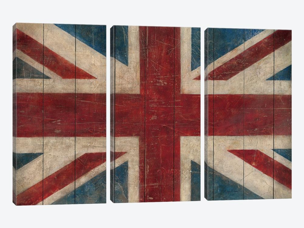 Union Jack Canvas Print Wall Art Union Jack Canvas Artwork Avery Inside Union Jack Canvas Wall Art (View 11 of 20)