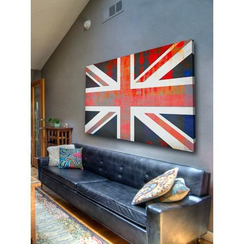 Union Jack Wall Art Union Jack Rock Canvas Wall Art Union Jack Pertaining To Union Jack Canvas Wall Art (View 15 of 20)