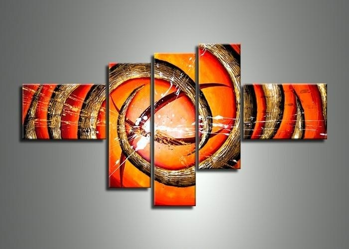 Unique 20+ Orange Wall Art Design Decoration Of 52 Orange Wall Art In Abstract Orange Wall Art (Image 19 of 20)