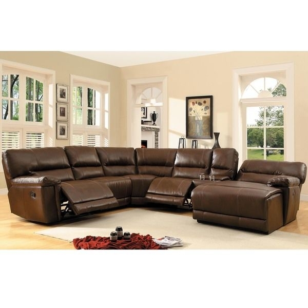 Unique Magnificent Leather Sectional With Chaise And Recliner 17 Regarding Sectional Sofas With Recliners Leather (Photo 7 of 10)