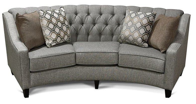 Unique Pieces: The Rounded Sofa | England Furniture Care And Maintenance With Rounded Sofas (Image 10 of 10)