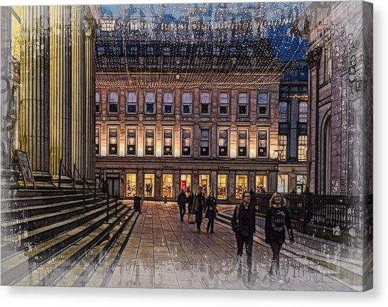 University Of Glasgow Canvas Prints (Page #2 Of 2) | Fine Art America For Glasgow Canvas Wall Art (Photo 11 of 20)