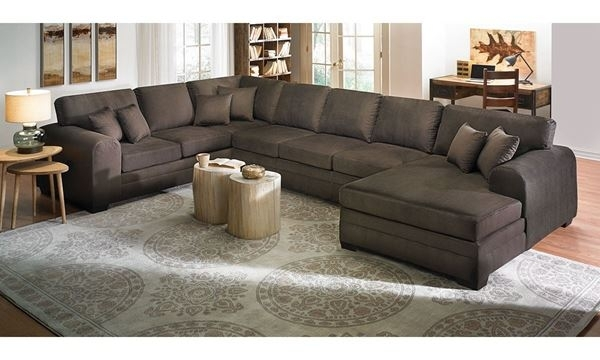 Upholstered Sectional Sofa With Chaise | The Dump Luxe Furniture Outlet Regarding The Dump Sectional Sofas (View 2 of 10)